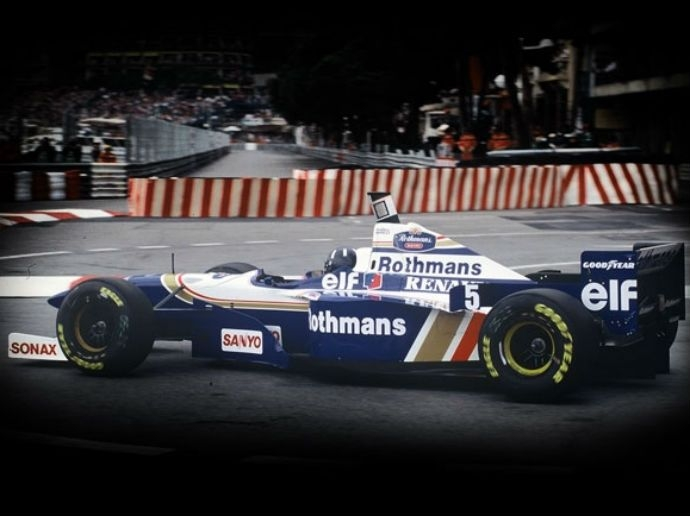 1996. OZ Damon Hil-l Williams ganó su segundo campeonato en la F1