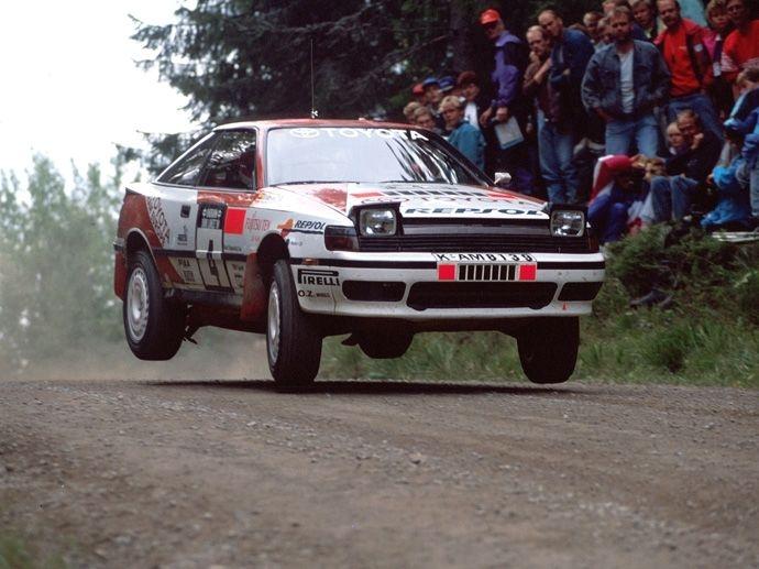 1990. WRC Drivers' Title Carlos Sainz Toyota Celica GT-Four ST185