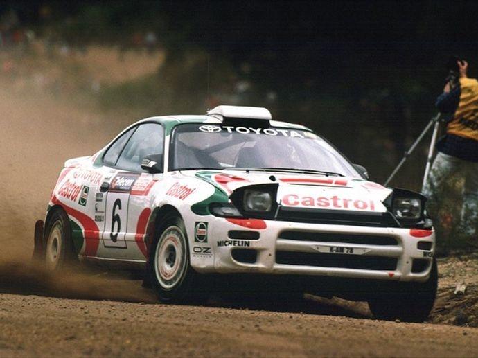1993. WRC Drivers' Title Kankunen Toyota Celica GT-Four ST185 1993. WRC Manufacturers' Title Toyota Celica GT-Four ST185