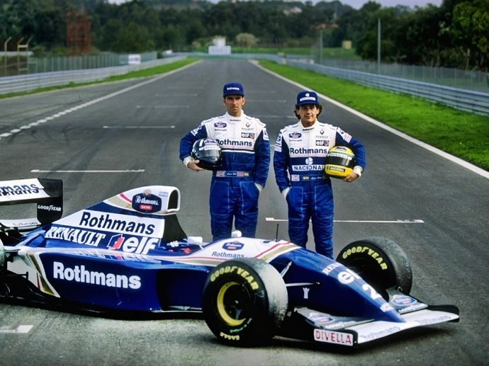 1994. F1 Contructors' Title Williams Renault