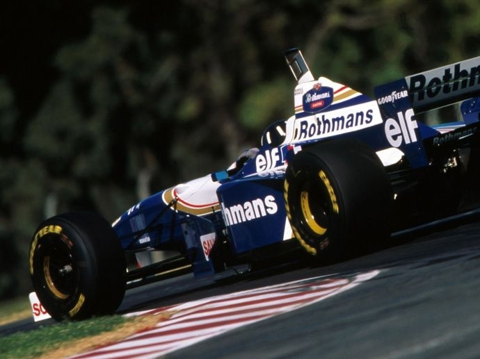 1996. F1 Drivers' Title Damon Hill 1996. F1 Contructors' Title Williams Renault