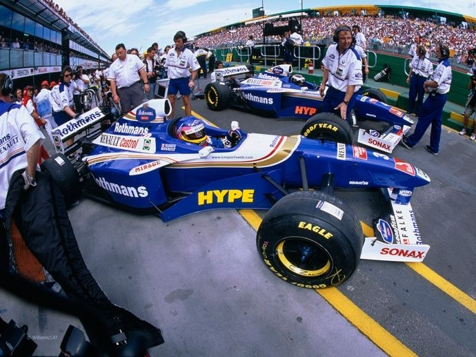 1997. F1 Drivers' Title Jacques Villeneuve 1997. F1 Contructors' Title Williams Renault