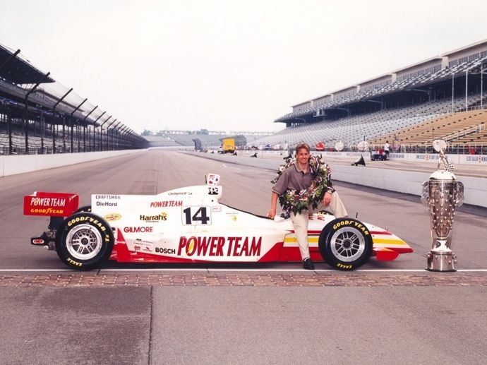 1999. Indy 500's Winner Kenny Bräck- A. J. Foyt Enterprises