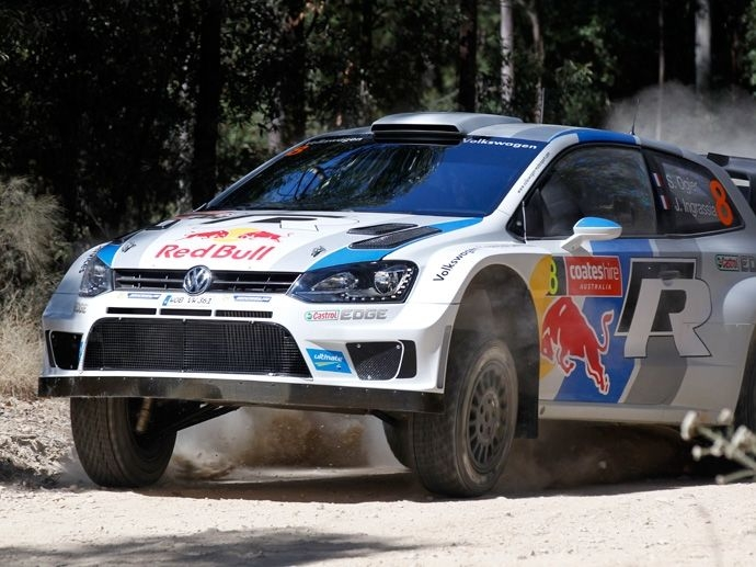 2013. The partnership between OZ and Volkswagen Motorsport starts off with a bang: Sebastien Ogier and VW win the world WRC on their debut appearance.
