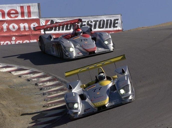 2000. Le Mans' Winner Audi Sport Team Joest Frank BielaTom KristensenEmanuele Pirro