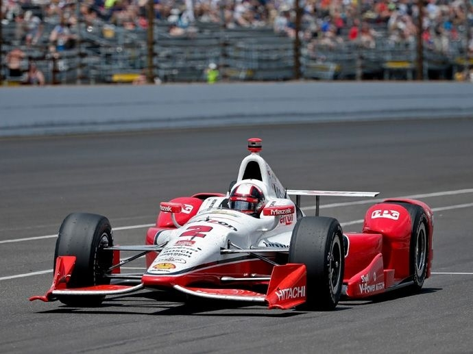 2000. Indy 500's Winner Juan Pablo Montoya - Chip Ganassi Racing