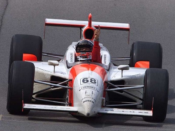 2001. Indy 500's Winner Hélio Castroneves - Penske Racing