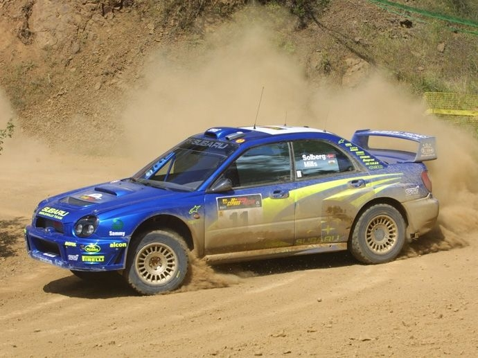 2003. WRC Drivers' Title Petter Solberg Subaru Impreza WRC 2003 2003. WRC Manufacturers' Title Citroën Xsara WRC