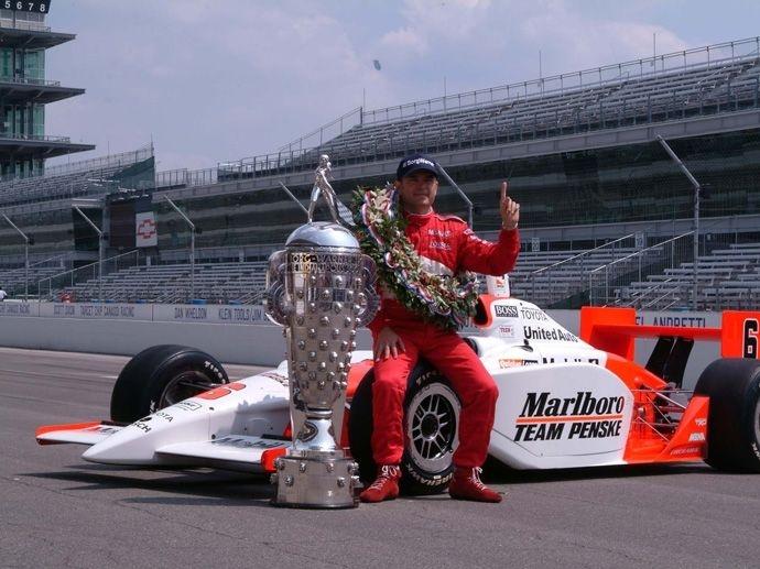 2003. Indy 500's Winner Gil de Ferran - Penske Racing