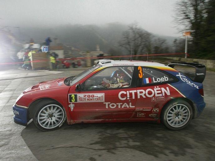 2004. WRC Drivers' Title Sébastien Loeb Citroën Xsara WRC 2004. WRC Manufacturers' Title Citroën Xsara WRC