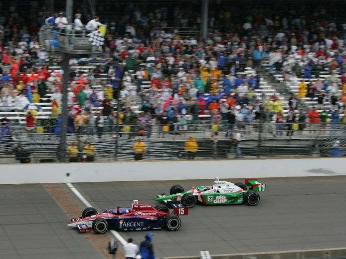 2004. Indy 500's  Winner Buddy Rice - Rahal Letterman Racing