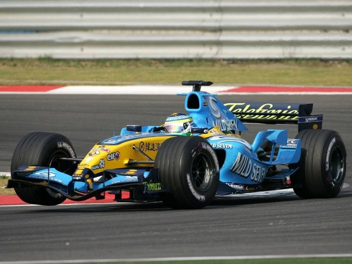 2005. F1 Drivers' Title Fernando Alonso 2005. F1 Contructors' Title Renault