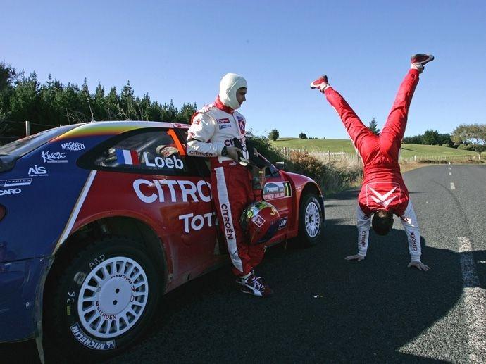 2005. WRC Drivers' Title Sébastien Loeb Citroën Xsara WRC 2005. WRC Manufacturers' Title Citroën Xsara WRC