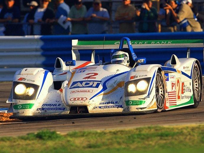 2005. Le Mans' Winner ADT Champion Racing J.J. LehtoMarco WernerTom Kristensen