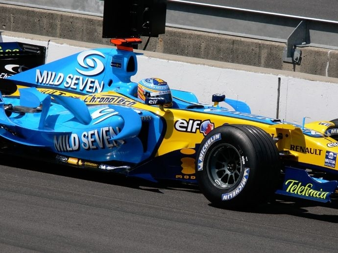 2006. F1 Drivers' Title Fernando Alonso 2006. F1 Contructors' Title Renault
