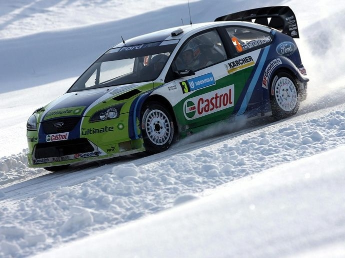2006. WRC Manufacturers'  Title Ford Focus RS WRC 06