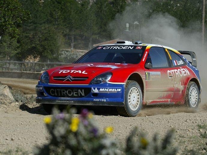 2006. WRC Drivers' Title Sébastien Loeb Citroën Xsara WRC
