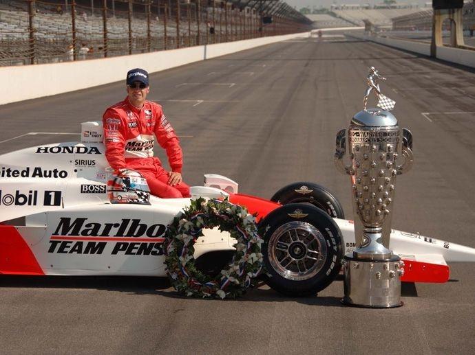 2006. Indy 500's Winner Sam Hornish Jr.- Penske Racing