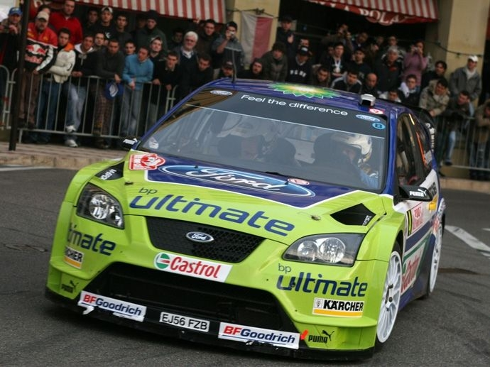 2007. WRC Manufacturers' Title Ford Focus RS WRC 07
