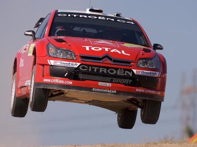 2007. WRC Drivers' Title Sébastien Loeb Citroën C4 WRC