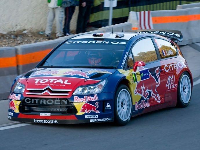 2008. WRC Drivers' Title Sébastien Loeb Citroën C4 WRC  2008. WRC Manufacturers' Title Citroën C4 WRC
