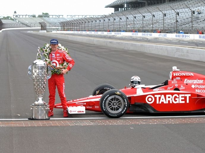 2008. Indy 500's Winner Scott Dixon - Chip Ganassi Racing