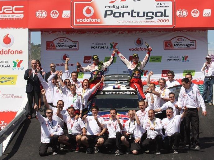 2009. WRC Drivers' Title Sébastien Loeb Citroën C4 WRC 2009. WRC Manufacturers' Title Citroën C4 WRC