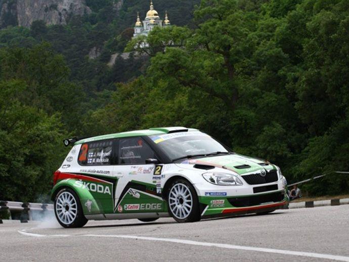 2010. IRC Juho Hänninen Škoda Fabia S2000