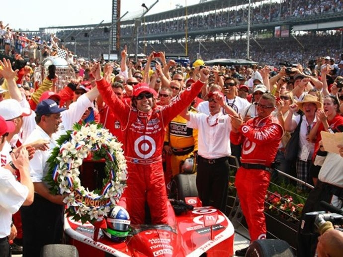 2010. Indy 500's Winner Dario Franchitti - Chip Ganassi Racing