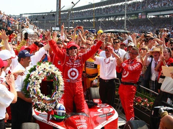 2010. Indy 500's Winner Dario Franchitti - Chip Ganassi Racing