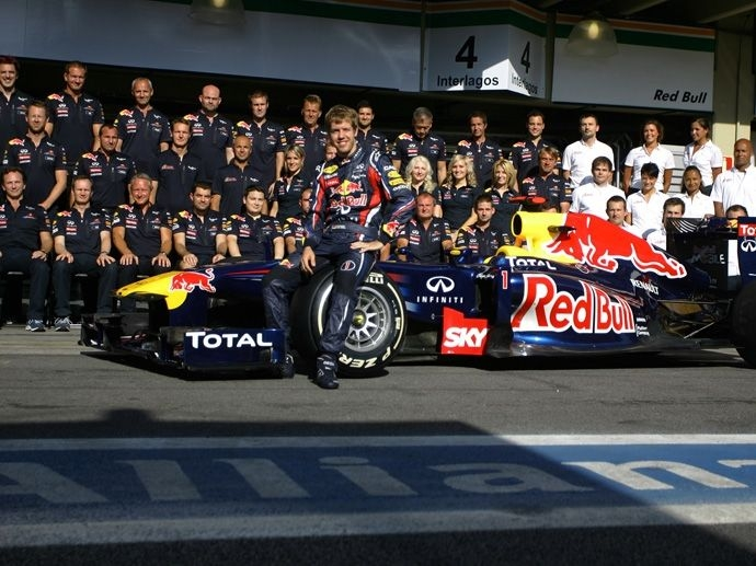 2011. F1 Drivers' Title Sebastian Vettel 2011. F1 Contructors' Title Red Bull Racing