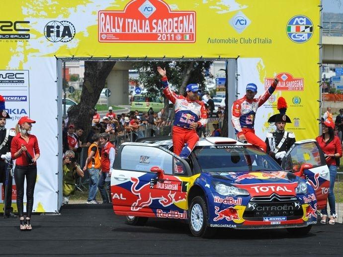 2011. WRC Drivers' Title Sébastien Loeb Citroën DS3 WRC 2011. WRC Manufacturers' Title Citroën DS3 WRC