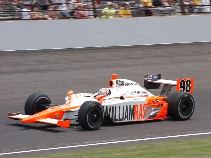 2011. Indy 500's Winner Dan Wheldon Bryan Herta Autosport