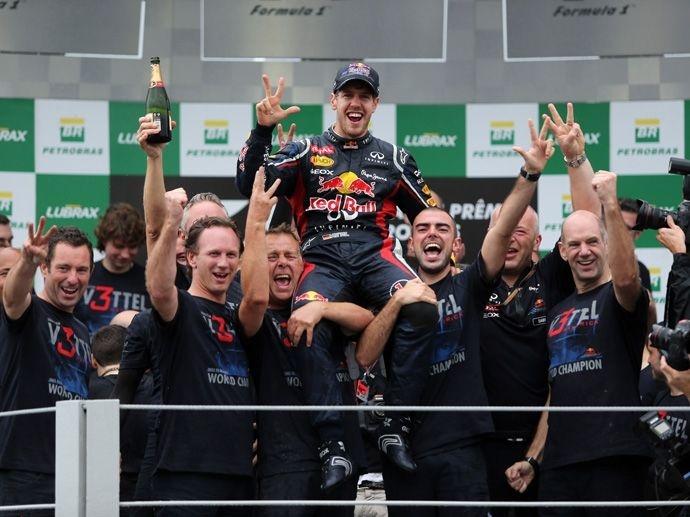2012. F1 Drivers' Title Sebastian Vettel 2012. F1 Contructors' Title Red Bull Racing