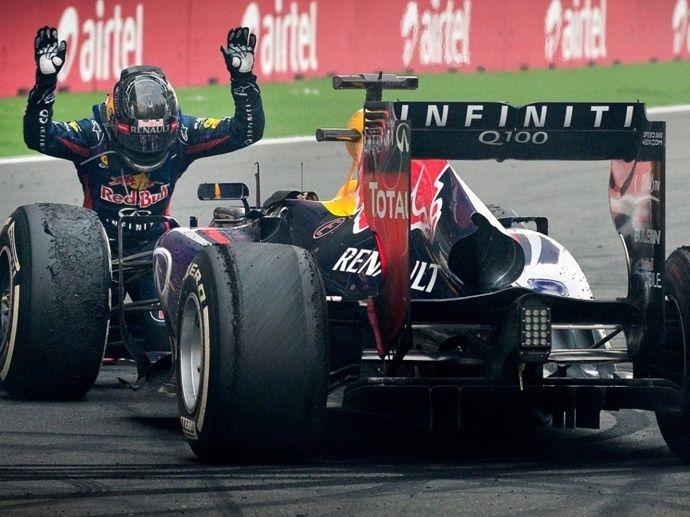2013. F1 Drivers' Title Sebastian Vettel 2013. F1 Contructors' Title Red Bull Racing
