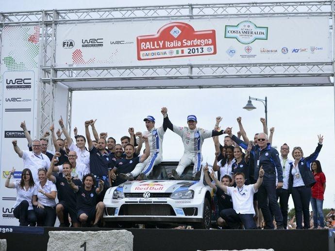 2013. WRC Drivers' Title Sébastien Ogier Volkswagen Polo R WRC 2013. WRC Manufacturers' Title Volkswagen Polo R WRC