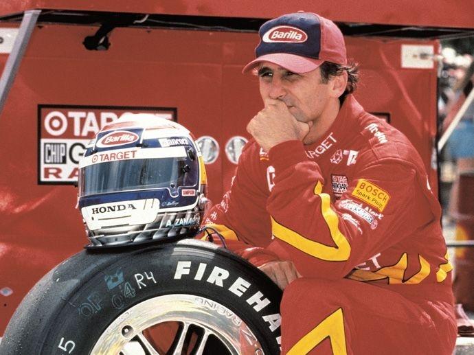 1997. Vítězství v Motokárovém šampionátu (na obrázku: Zanardi), v Indianapolis 500 Miles a v Indy Racing League se všechna započítala do kolekce medajlí OZ.