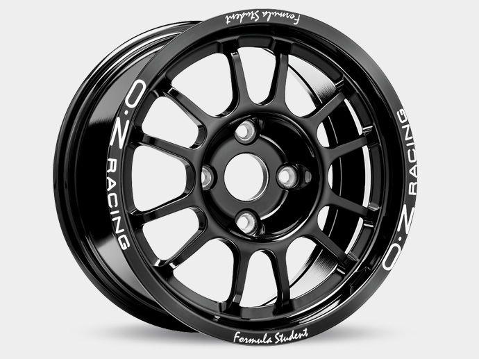 OZ Formula Student Alluminium 4H wheel  Download technical drawing