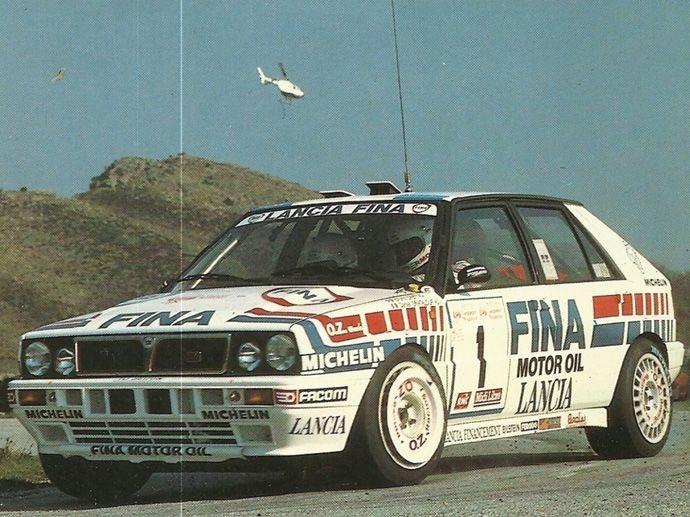 1990. WRC Manufactures'  Champ Lancia Delta HF Integrale 16V