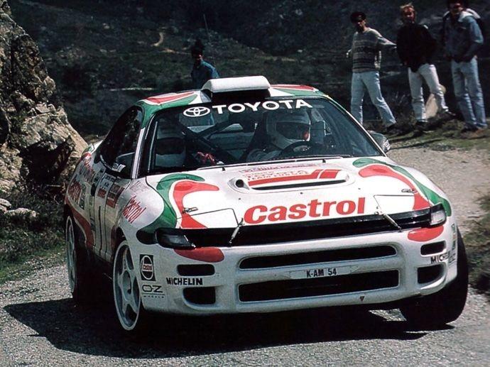 1992. WRC Drivers' Title Carlos Sainz Toyota Celica GT-Four ST185
