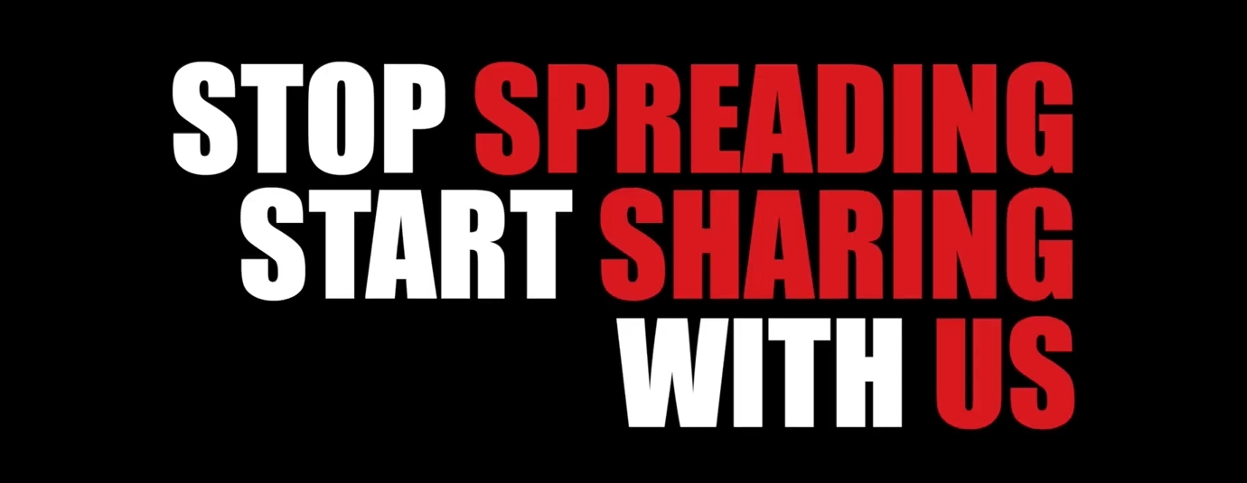 Stop spreading, Start sharing your#OZGarageLife