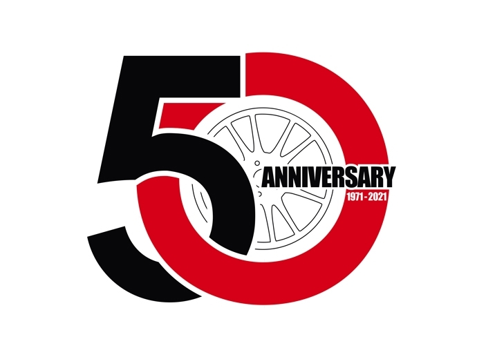 2021. OZ celebrates its 50 years of history with 21 consecutive victories in the WRC championship, 14 F1 world titles, 4 consecutive victories in MotoGP and 6 Formula E titles.