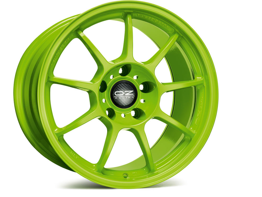 WHEEL OZ ALLEGGERITA HLT 5F 7,5X17 ET35 5X 98 58,06 ACID GREEN