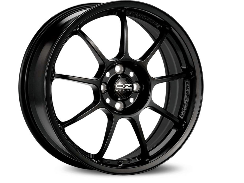 WHEEL OZ ALLEGGERITA HLT 5F 8X17 ET55 5X108 75 MATT BLACK
