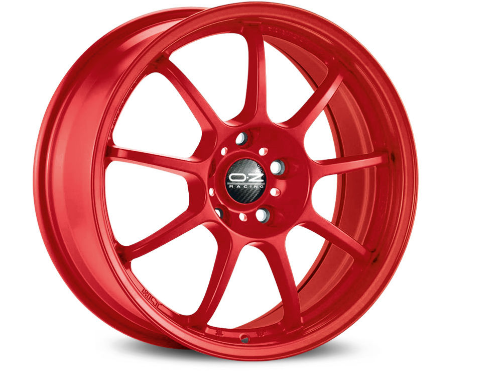 WHEEL OZ ALLEGGERITA HLT 5F 8X17 ET55 5X108 75 RED