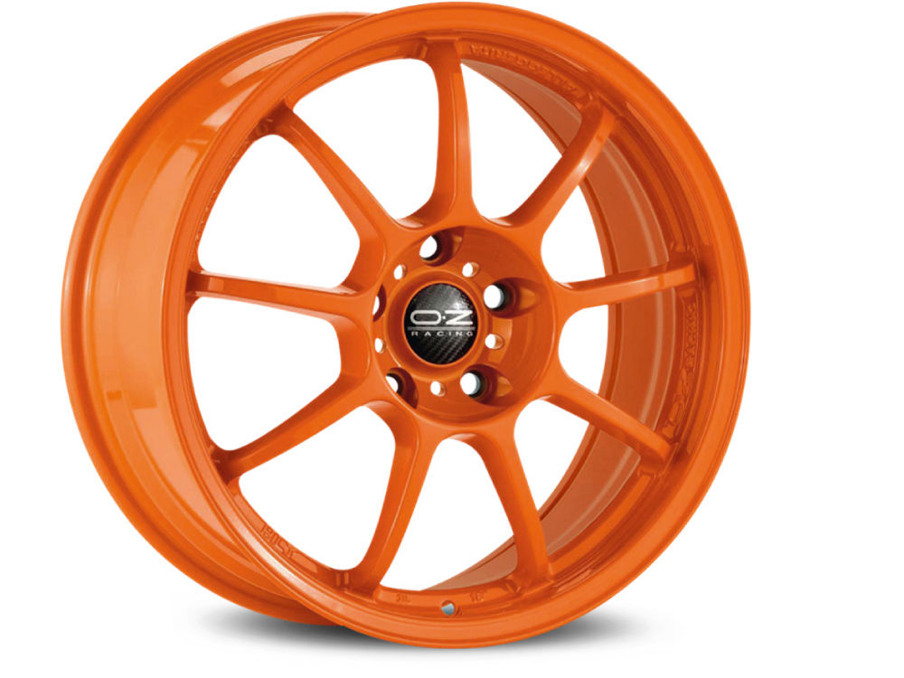 WHEEL OZ ALLEGGERITA HLT 5F 8X17 ET55 5X108 75 ORANGE