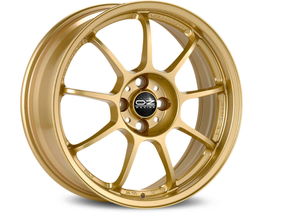 WHEEL OZ ALLEGGERITA HLT 5F 8X17 ET55 5X108 75 RACE GOLD