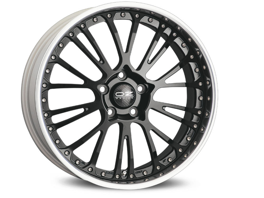 RIM MODULAR WHEELS BOTTICELLI III 9,5X22 ET15 5X115 79 MATT BLACK