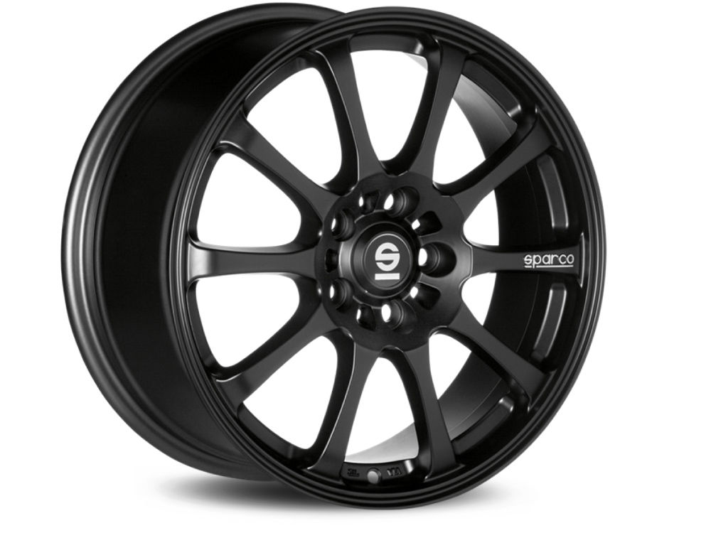 WHEEL SPARCO WHEELS SPARCO DRIFT 8X17 ET40 5X108 73 MATT BLACK TUV/NAD