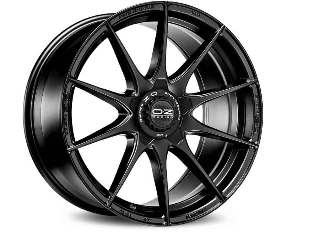 WHEEL OZ FORMULA HLT 8X18 ET45 5X108 75 MATT BLACK TUV/NAD